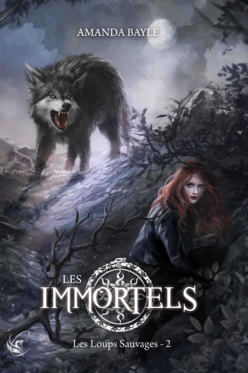 Couverture Les immortels, tome 2 : Les loups sauvages