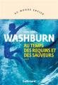 Couverture Au temps des requins et des sauveurs Editions Gallimard  2021