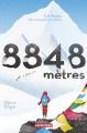 Couverture 8848 mètres Editions Casterman (Jeunesse) 2020