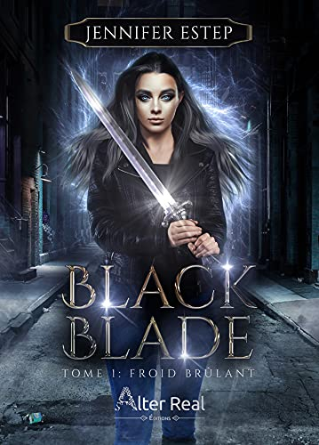 Couverture Black Blade, tome 1 :  Froid brûlant