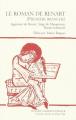 Couverture Le roman de Renart / Roman de Renart Editions Honoré Champion 2007