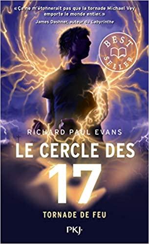 Couverture Le cercle des 17, tome 5 : Tornade de feu