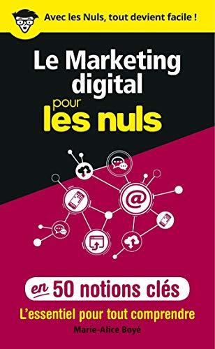 Couverture Le marketing digital pour les Nuls en 50 notions clés
