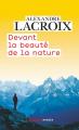 Couverture Devant la beauté de la nature Editions Flammarion (Champs - Essais) 2021