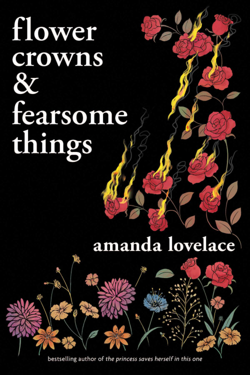 Couverture Flower Crowns & Fearsome Things