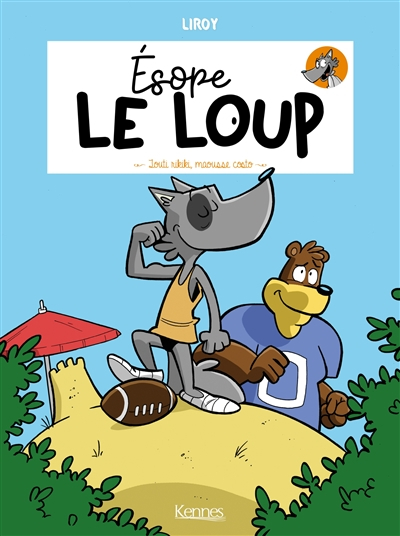 Couverture Esope le loup, tome 2 : Louti rikiki, maousse costo