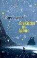 Couverture La mélancolie des baleines Editions Gaïa (Kayak) 2021