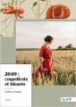 Couverture 2040 : coquelicots et bleuets Editions NomBre7 2021