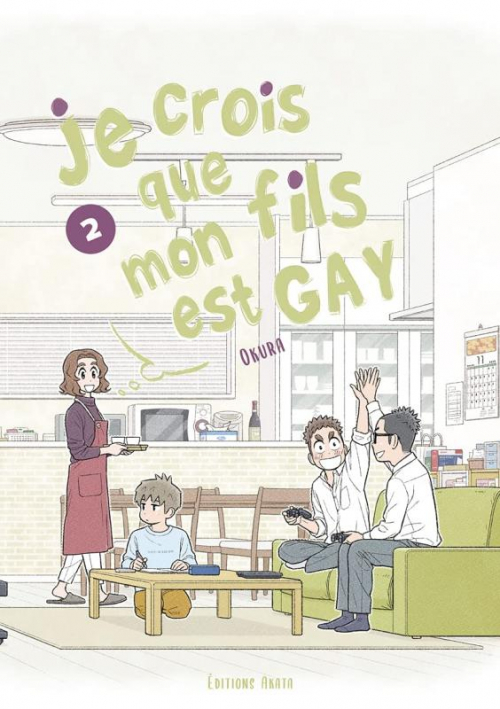 Couverture Je crois que mon fils est gay, tome 2