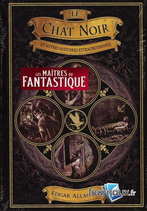 Couverture Le chat noir et autres contes fantastiques / Le chat noir et autres nouvelles / Le chat noir