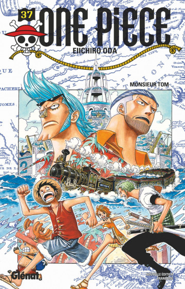 Couverture One Piece, tome 037 : Tom