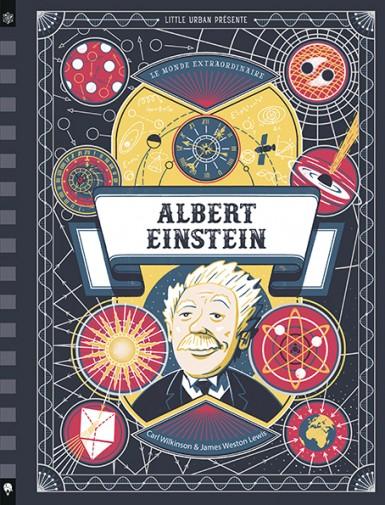 Couverture Le Monde extraordinaire d'Albert Einstein