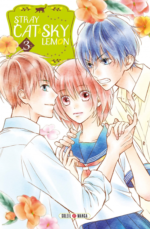 Couverture Stray cat and sky lemon, tome 3