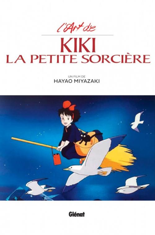 Couverture L'Art de Kiki la Petite Sorcière
