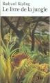 Couverture Le livre de la jungle Editions Folio  1972