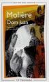 Couverture Dom Juan Editions Flammarion (GF) 1998