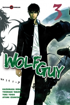 Couverture Wolf Guy, tome 03