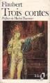 Couverture Trois contes Editions Folio  1984