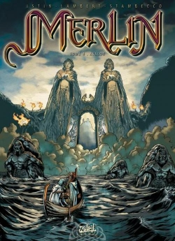 Couverture Merlin, tome 04 : Avalon