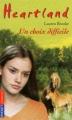 Couverture Heartland, tome 35 : Un choix difficile Editions Pocket (Jeunesse) 2009