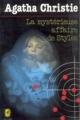 Couverture La Mystérieuse Affaire de Styles Editions Le Livre de Poche (Policier) 1980