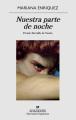 Couverture Notre part de nuit Editions Anagrama (Narrativas Hispanicas) 2019