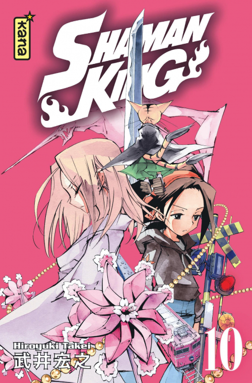 Couverture Shaman King, star édition, tome 10