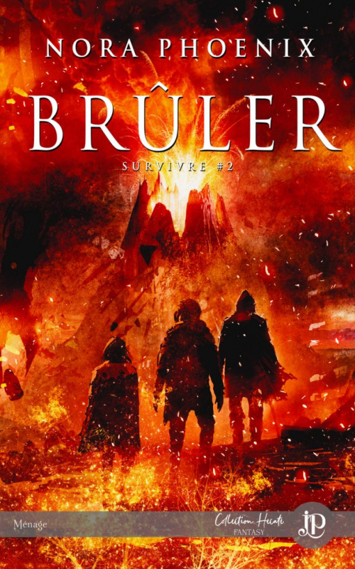 Couverture Survivre, tome 2 : Brûler