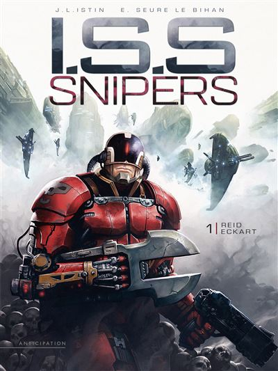 Couverture I.S.S. Snipers, tome 1 : Reid Eckhart