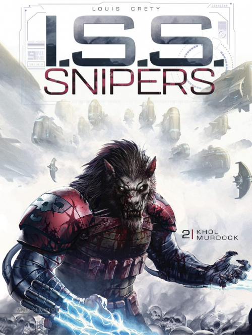 Couverture I.S.S. Snipers, tome 2 : Khol murdock