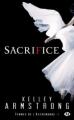 Couverture Femmes de l'Autremonde, tome 07 : Sacrifice Editions Milady (Bit-lit) 2012