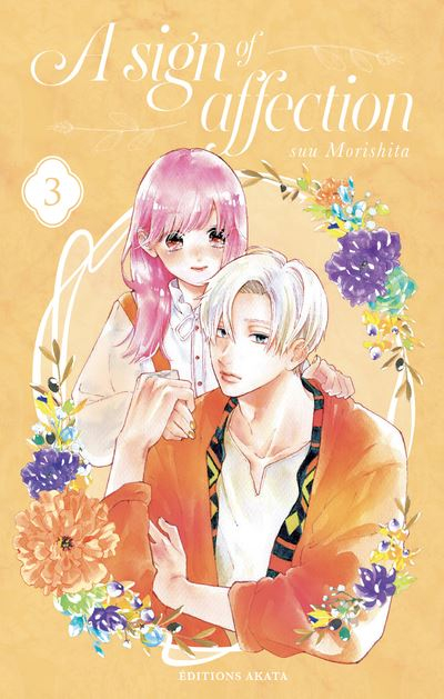 Couverture A sign of affection, tome 3