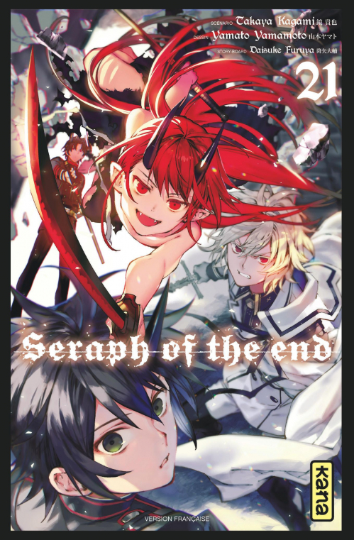 Couverture Seraph of the End, tome 21