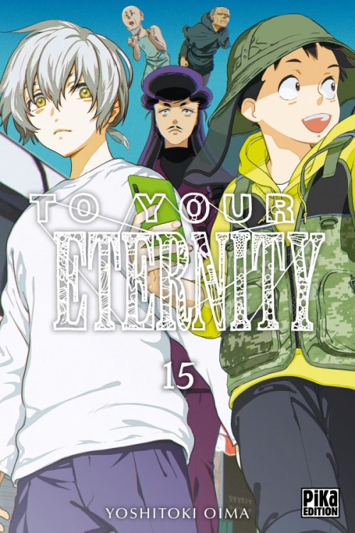 Couverture To your eternity, tome 15
