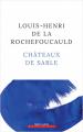 Couverture Châteaux de sable  Editions Robert Laffont 2021