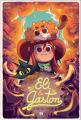 Couverture Eli & Gaston, tome 2 : La forêt des souvenirs  Editions Ankama (Étincelle) 2021