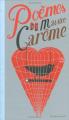 Couverture Poèmes de Maurice Carême  Editions Bayard (Jeunesse) 2005