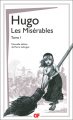 Couverture Les Misérables (2 tomes), tome 1 Editions Flammarion (GF) 2020