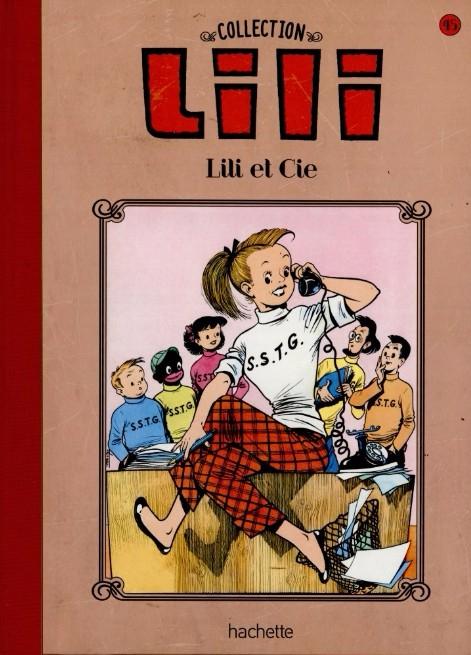 Couverture Lili, tome 16 : Lili et cie