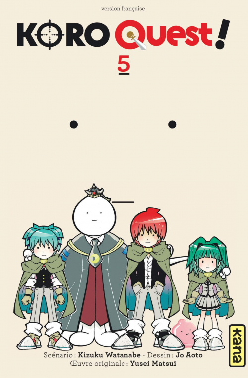 Couverture Koro quest !, tome 5
