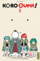 Couverture Koro quest !, tome 5 Editions Kana (Shônen) 2020