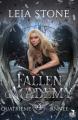Couverture Fallen Academy, tome 4 : Quatrième année Editions MxM Bookmark (Teen Spirit) 2021