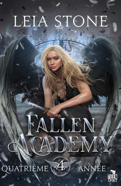 Couverture Fallen Academy, tome 4 : Quatrième année