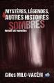 Couverture Mystères, légendes et histoires sombres Editions du 38 2021
