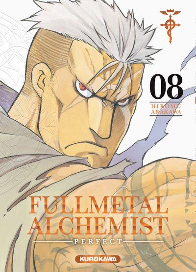 Couverture Fullmetal Alchemist, perfect, tome 08