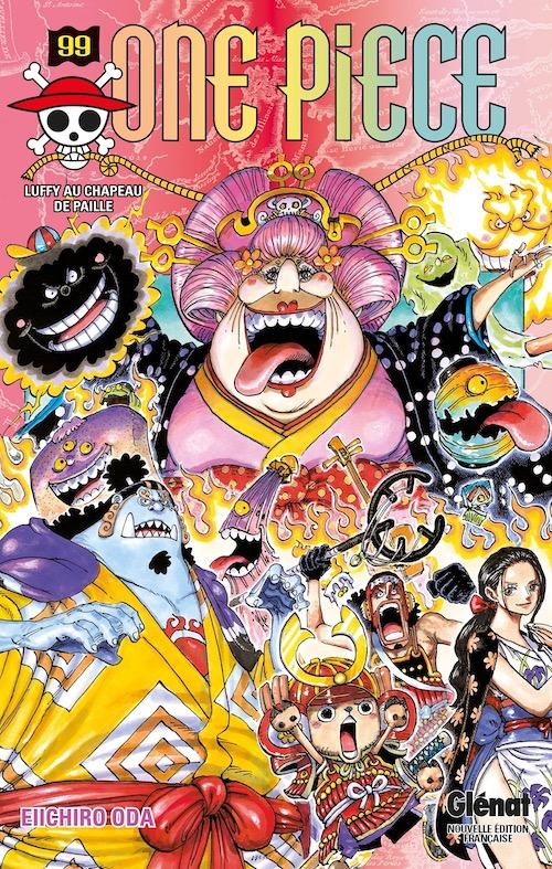 Couverture One Piece, tome 099 : Luffy au chapeau de paille