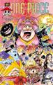 Couverture One Piece, tome 099 : Luffy au chapeau de paille Editions Glénat 2021