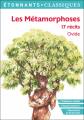 Couverture Les métamorphoses : 17 récits Editions Flammarion (Étonnants classiques) 2020