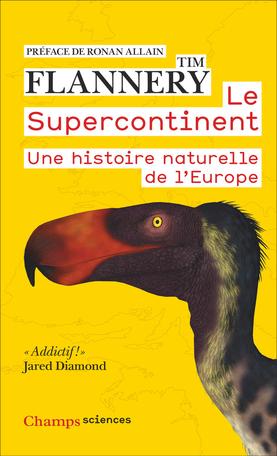 Couverture Le supercontinent Une histoire naturelle de l'Europe
