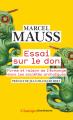 Couverture Essai sur le don Editions Flammarion (Champs - Classiques) 2021